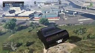GTA 5: pedestrians funny moments (parody)