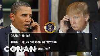 EXCLUSIVE Leaked Audio Of Obama & Trump