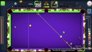 8 Ball pool trick shot