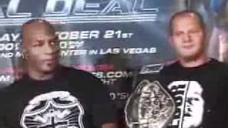 Mike Tyson and Fedor Emelianenko