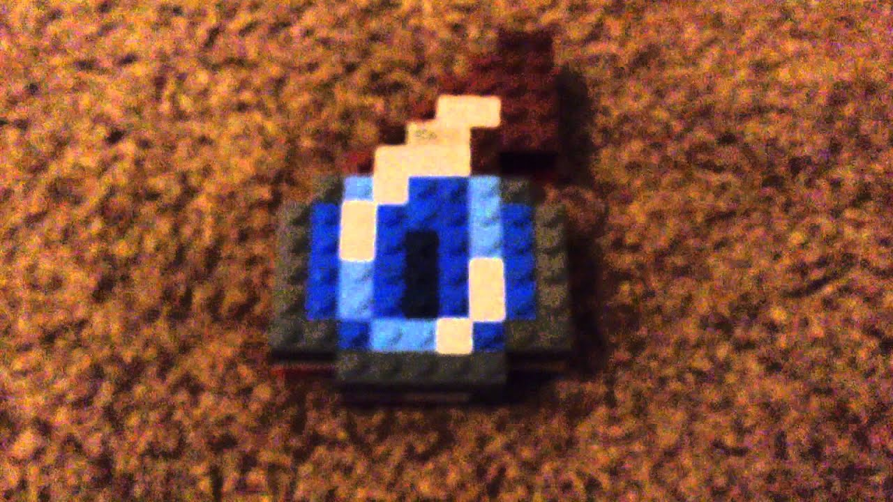 Lego Minecraft Splash Potion