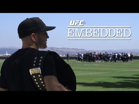 UFC 177 Embedded: Vlog Series ­ Episode 2