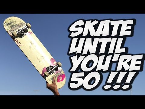 SKATE UNTIL YOU ARE 50 YEARS OLD !!! - A LIFETIME WITH NKA -