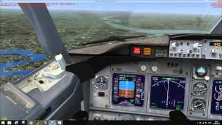 FSX Full autopilot and ILS landing tutorial (Basic)