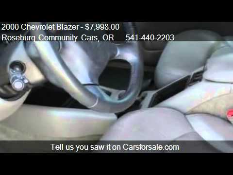 2000 Chevrolet Blazer TrailBlazer 4WD - for sale in ROSEBURG