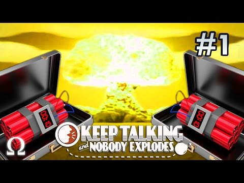 PANIC INDUCING HAPPY FUN TIMES! | Keep Talking & Nobody Explodes #1