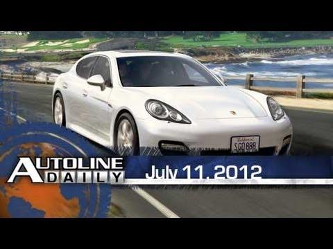 Hertz to Rent Porsche Panamera - Autoline Daily 925