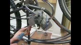 Bisiklete 80 cc lik motor montajı