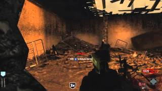 Black Ops Zombies_ Live Commentary - Verruckt Part 1 - Attempt 1