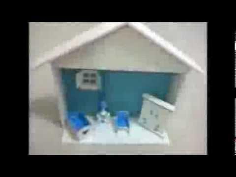 Porta Maternidade - Cenário Casinha Azul Bebe para Menino