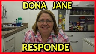 DONA JANE RESPONDE