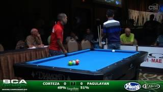 2017 BCAPL Nationals - 9-Ball Challenge: Corteza vs Pagulayan