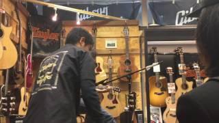 Taylor Guitars Road Show!@イシバシ楽器心斎橋店