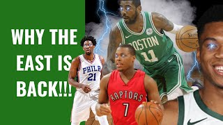 WHY THE EASTERN CONFERENCE IS BACK!   GREEK FREAK, EMBIID, KYRIE, & MORE   TheBlackRanger X