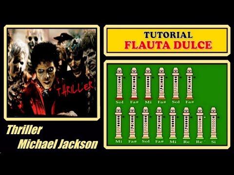 Michael Jackson - Thriller en Flauta