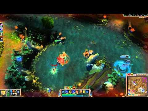 League of Legends: Lu Bu vs Invisible Dragon