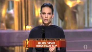 Hilary Swank Wins Best Actress: 2005 Oscars