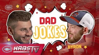 Victor Mete and Paul Byron tell dad jokes