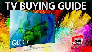 TV Buying Guide 2018 - HDR 4K TVs, OLED, LCD/LED, IPS, VA Screens
