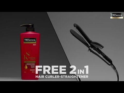FREE 2in1 Hair Curler-Straightener with TRESemmé | TRESemmé India