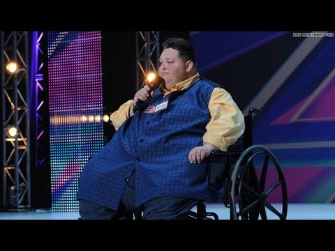 Freddie Combs, 540-Pound 'X Factor' Contestant, Wows Judges [Video