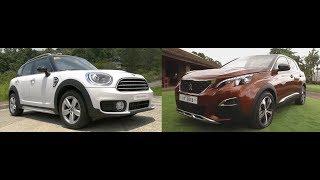 Auto Focus | Head to Head: Peugeot 3008 Vs. Mini Countryman Cooper D