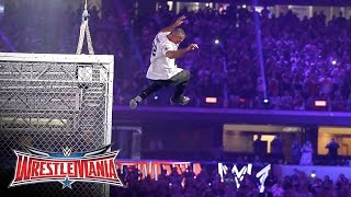 Shane McMahon vs The Undertaker Hell in a Cell Match WrestleMania 32 on WWE Network
