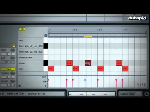 UK Funky | Ableton Live Tutorial - Drum Programming Basics