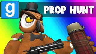 Gmod Prop Hunt  Five Nights at Vanosss Garrys Mod Funny Moments