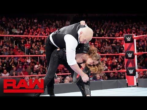 Ronda Rousey drops Baron Corbin: Raw, Nov. 12, 2018