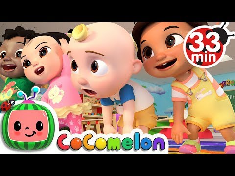 Stretching and Exercise Song + More Nursery Rhymes & Kids Songs - CoCoMelon