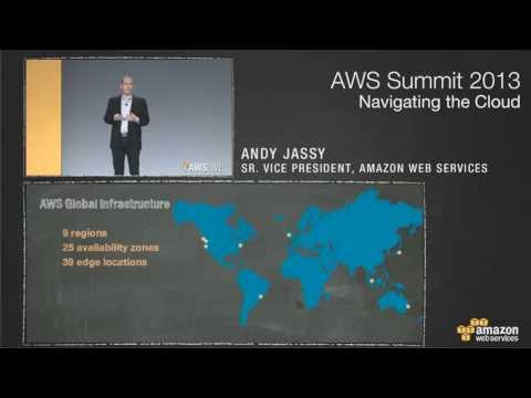 2013 AWS Summit Keynote -- San Francisco