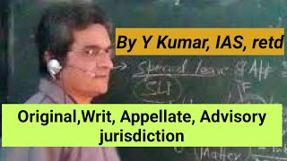 Original and appellate advisory special leave  jurisdiction of Supreme Court