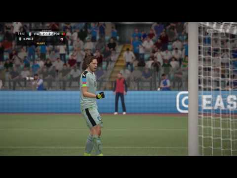 2018 FIFA WORLD CUP | Portugal vs Italy part 2 | FIFA 17 Gameplay