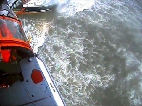 Raw: Coast Guard Rescue of Fishing Vessel in NY