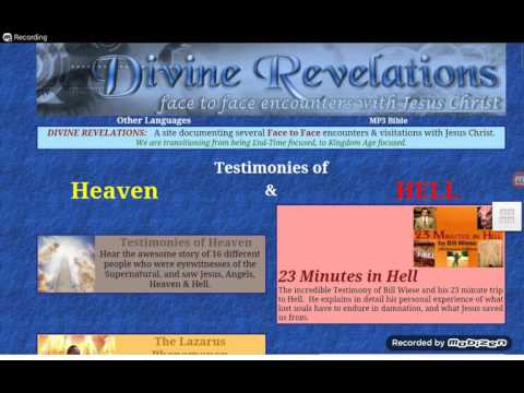 Testimonies About Heaven And Hell