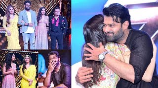 Shraddha Kapoor's CUTE Heart Melting Moments Wid Prabhas At Saaho Film Promotions On Nach Baliye 9