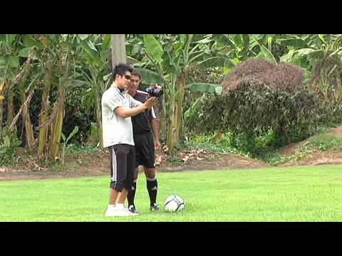 เบื้องหลังถ่ายเกมส์ FIFA ONLINE 2 by ป้าชูPACHUU