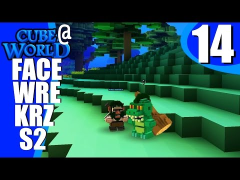 Facewreckers s02e14  - Cartooner in Training - Alpha Gameplay Multiplayer Cubeworld LP