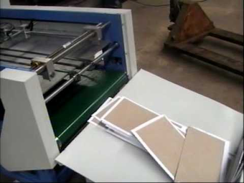 Auto matic book cover machine
