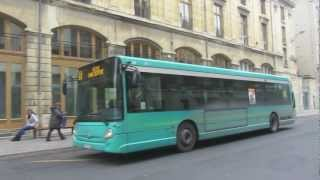 Buses in Reims, France