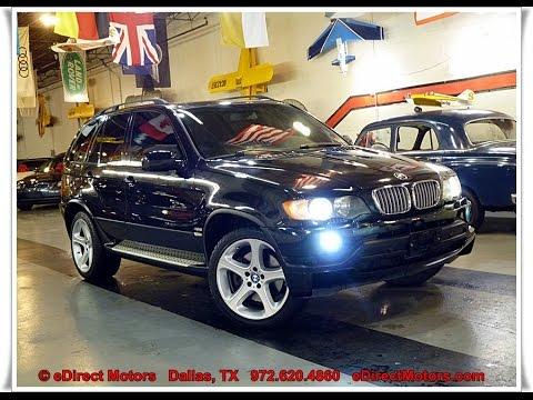 2003 Bmw X5 Edirect Motors Travel The World And