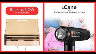 iCane: The Smart Walking Stick That Keeps You Safe