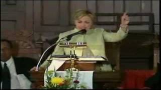 Hilary's negro dialect