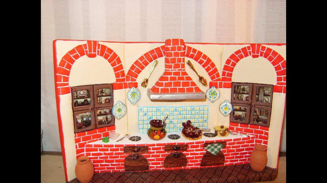Diy c mo pintar una cocina de cer mica con adornos de for Como disenar una cocina