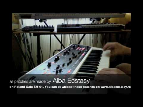 0 Roland Gaia SH 01 patches by Alba Ecstasy part1