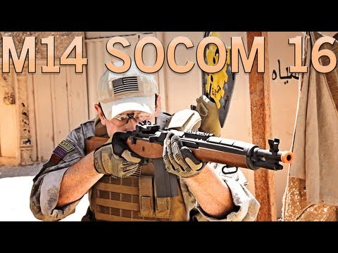 Airsoft GI - CYMA M14 Socom 16 AEG Gun Review at SC Village SC Viper