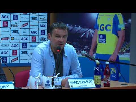 Tisková konference hostujícího trenéra po utkání Teplice - Hradec (24.10.2017)