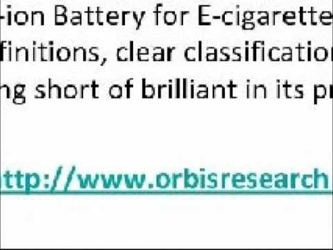 2016 Europe Li ion Battery for E cigarette Market