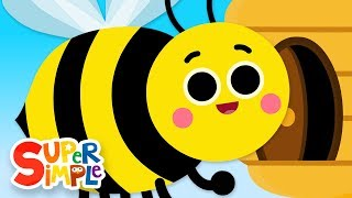 The Bees Go Buzzing | Kids Songs | Super Simple Songs